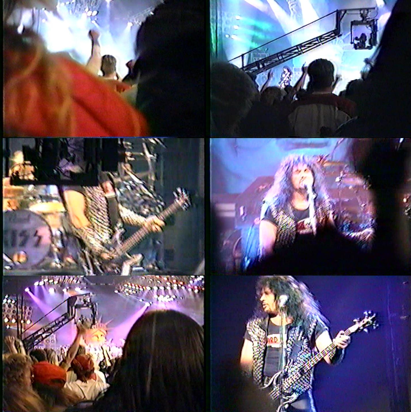 Kiss live Detroit Michigan 27 11 1992 (Floor Version) DVD preview 0