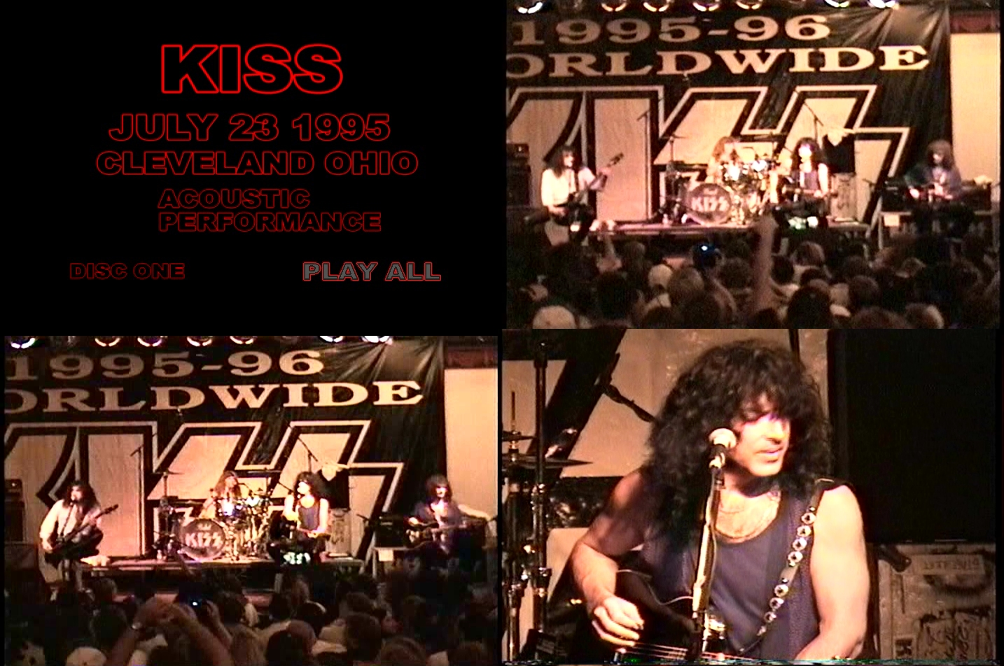 KISS Cleveland Ohio 1995 07 23 DVD 2 preview 0